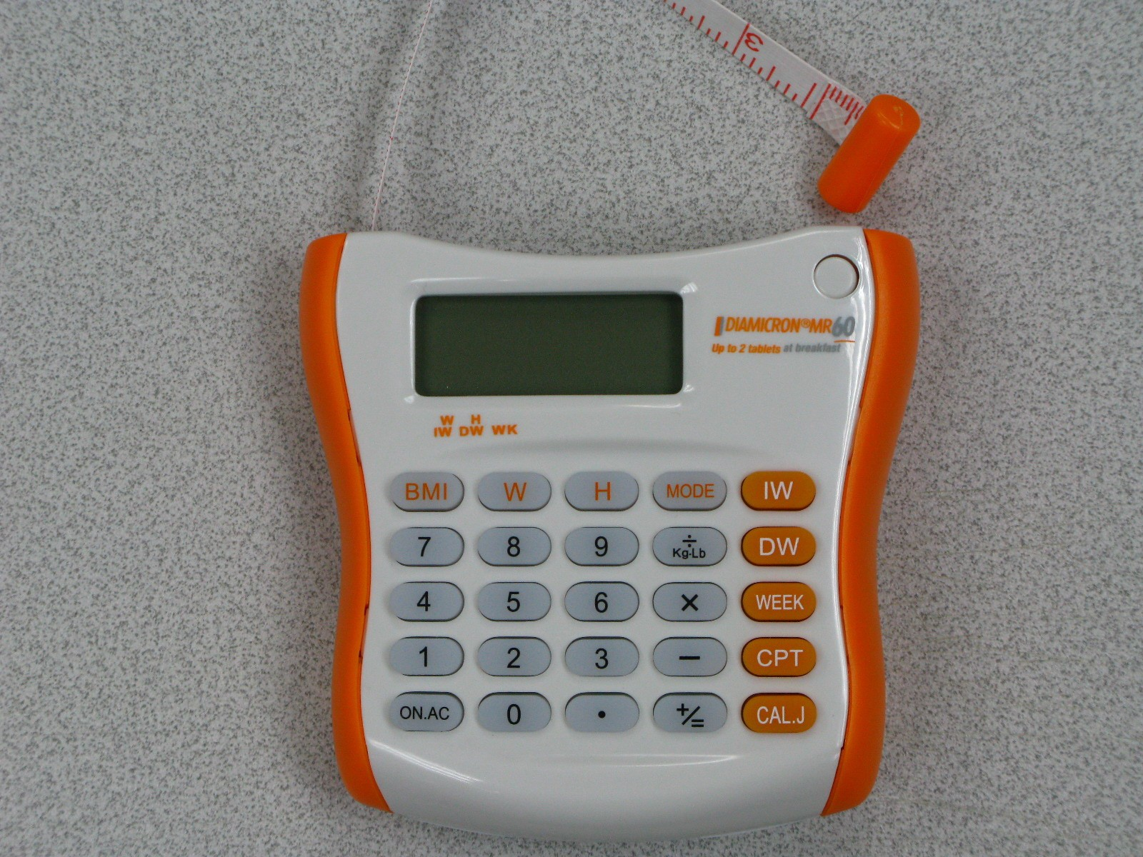 BMI Calculator With Tape Measure