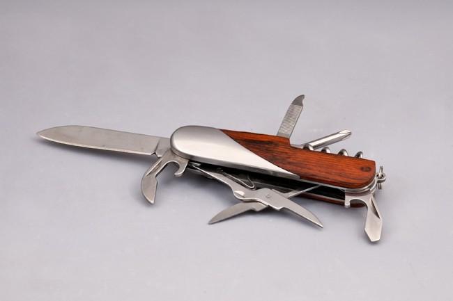 Wooden/Stainless Steel Multi Purpose Knife