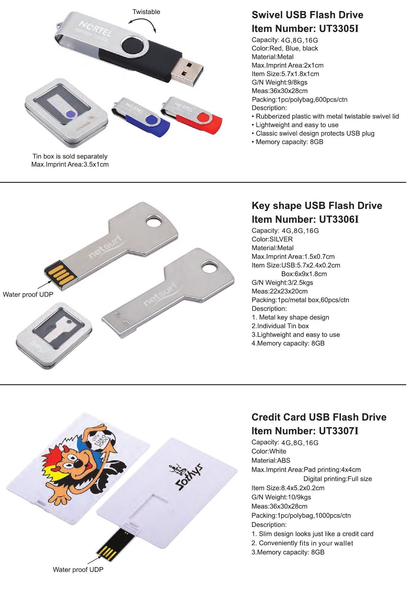 USB Items
