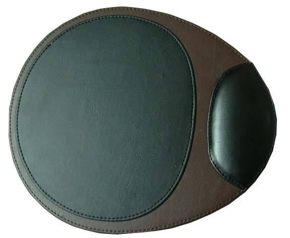 PVC Black & Brown Mouse Pad