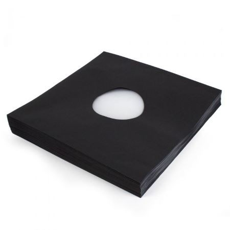 BLACK INNER SLEEVES - AUDIOPHILE DELUXE POLY-LINED