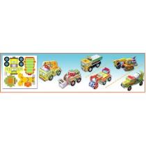Construction Car-Set of 6 styles