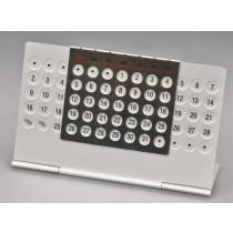Aluminium Desk Calendar