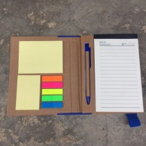 Sticky Note Pad with Cover include Ball Pen