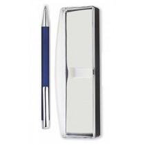 Blue Metal Ball Pen with Gift Box