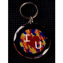 Acrylic Key Tag -Round