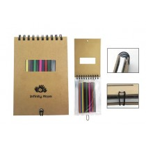 Notebook with Pencil Item