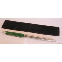 X Pen- Green / Silver