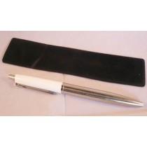 X Pen- White/ Silver