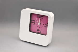 Plastic Table / Wall Quartz Beep Alarm Clock