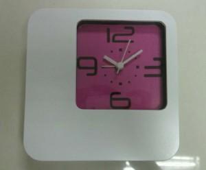 Clock (Pink)