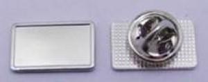 Nickel Plated Metal Lapel Pin