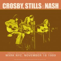 CROSBY, STILLS & NASH - LIVE AT THE UNITED NATIONS GENERAL ASSEMBLY HALL