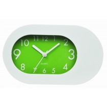 Plastic Table Alarm Clock - Green